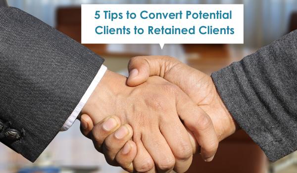 potential clients, retain clients