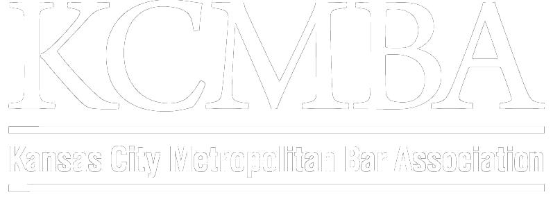 KCMBA logo white