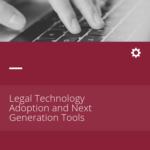 Legal Tech and Next Generation